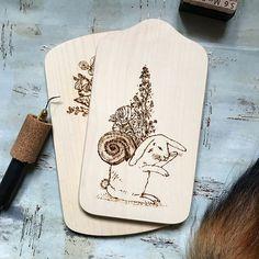 The Wild Bunny! Available soon! #pyrography #rabbit #bunny #floral #shell #hybrid #decor #choppingboard #wooddecor #illustration #handdrawing #handmade #wood #woodburning #drawing