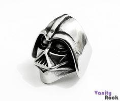 Anel Darth Vader. Rico em detalhes!!!  Compre Online: www.vanityrock.com.br