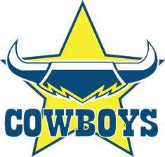The North Queensland Cowboys are an Australian professional rugby league football club based in Townsville. in National Rugby League Dallas Cowboys Logo, Cowboys Vs, Cowboys Football, Football Team, Canterbury Bulldogs, Newcastle Knights, Penrith Panthers, National Rugby League, Aussies