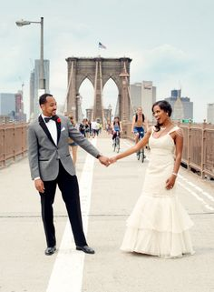 Ama & Gary's Good Morning America Real Wedding! - Blackbride.com