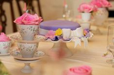 Tea Party Birthday Party Ideas | Photo 17 of 18 | Catch My Party