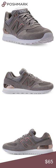 91fcdb8c19f251 New Balance 574 Rose Gold Casual Sneakers NEW WITH BOX Laid-back with a  retro