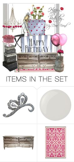 """""""Happy Birthday My Dear Friend"""" by beleev ❤ liked on Polyvore featuring art"""
