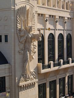Bass Hall, Fort Worth, TX by starrise, via Flickr