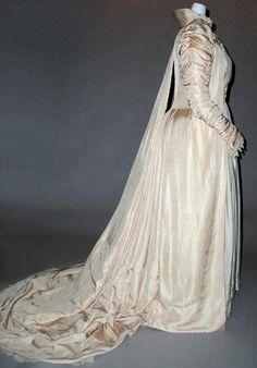 Liberty & Co. dress ca. 1891, via The Costume Institute of The Metropolitan Museum of Art