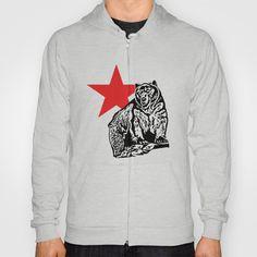 Kris Alan grizzly bear Hoody by Kris alan apparel - $38.00