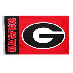 NCAA Georgia Bulldogs Deluxe 3' X 5' Flag