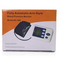 Automatic Arm Type Intelligent Electronic Sphygmomanometer Instrument - US$24.99