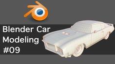 Blender Car Modeling 09-LiveStream