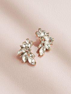 Porter Cluster Stud Earrings – Olive + Piper