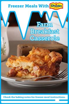 Brunch Casserole, Taco Casserole, Breakfast Dishes, Breakfast Recipes, Freezer Meals, Brunch Recipes, Holiday Recipes, Cocoa Cake, Cooking Recipes