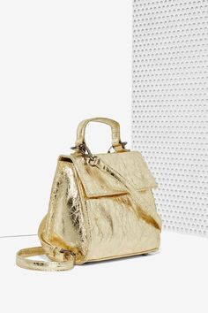 Nasty Gal x Nila Anthony Gold Standard Crossbody Bag - Accessories | Bags + Backpacks | Accessories