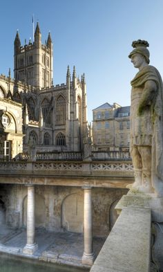 Roman baths, Bath, UK