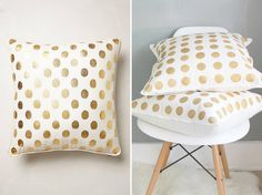 Use this tutorial to make two Anthro-inspired pillows.