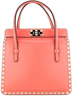 Michael Kors coral purse...not practical but I love the color!
