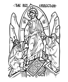 Orthodox coloring pages, and so many educational ideas. Teach your children about confession and leading a virtuous life.