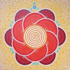 A-Mandala-21-Cosmic Spiral