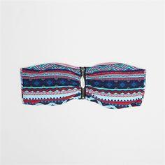 Haut de maillot de bain zippé - Collection Maillot de bain séparable - Pimkie France