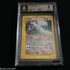 Crystal Lugia Holo RARE 149 147 BGS Graded 9 Aquapolis Pokemon Cards | eBay
