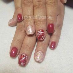 "33 Likes, 4 Comments - Kerrie Ficklin (@nailsbykerrie) on Instagram: ""#christmasnails #nails #gelnails #lightelegance #rednails #redandwhitenails #mylarnails…"""