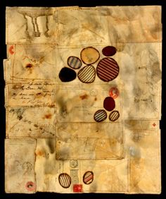 Dawn Southworth - Envelope Drawing; mixed media on paper. Envelope Drawing III