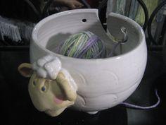 We love these #yarn bowls from Pawley Studios! http://pawleystudios.com