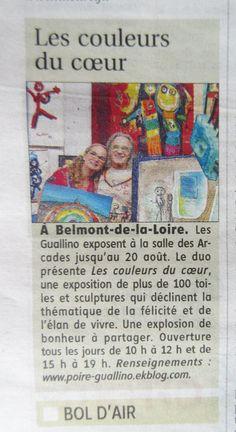 Le pays - 6 août 2015 - Anne Poiré et Patrick Guallino