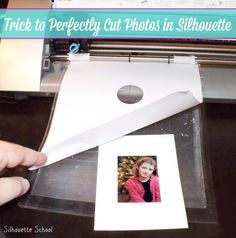 Trick to Silhouette Cutting Photos Perfectly (Even Without PixScan) #Silhouette #Silhouetteideas #silhouetteprojects #silhouettecameo #silhouettetutorials