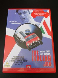 The #ItalianJob (DVD, 2003) #ebay #michaelcaine