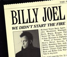 """Links to more info about all 122 references in Billy Joel's """"We Didn't Start the Fire"""""""