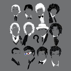 Twelve Doctors by zerobriant | www.TeeTee.eu