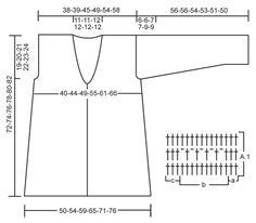"""Gehaakt DROPS vest met sjaalkraag en riem van """"Vivaldi"""". Maat: S - XXXL ~ DROPS Design"""
