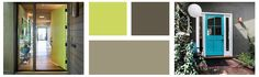 I have been trying to tone down my front door color obsession because this blog was becoming the The Blog of Front Door Colors, although thats not a bad idea for a blog since those posts are, by far, the most widely read. :-) That said, I just found this article on Houzz that details front door