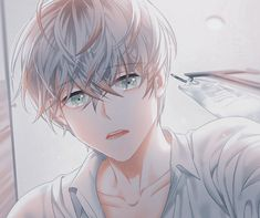 Yandere Anime, Anime Manga, Mystic Messenger Comic, Saeran Choi, Drawing Poses, Cute Anime Guys, Aesthetic Anime, Art Drawings, Poster Prints