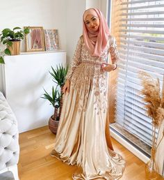 Elegant Hijab Party Dresses Ideas - Need Some Long Sleeve Party Dresses With Hijab Outfit Ideas, Then You've Come To The Right Place - image:@haceryesilyaz - Long Sleeve Party Dresses- Bridesmaid Dresses - Simple Party Dresses With Hijab - Party Dresses Hijab Style - Classy Party Dresses With Hijab Fashion - Garden Party Dress With Hijab Fashion - Hijab Dress Party -Hijab Prom Dress #hijabfashion #hijaboutfit #hijabfashioninspiration #hijabdressparty #dubaifashion