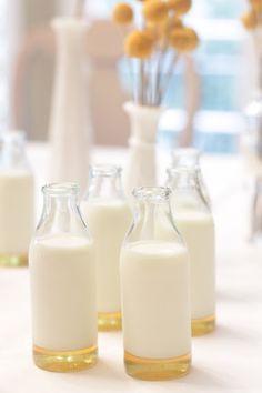 milk and honey - you can actually drink it! ;) @Cathy Carr
