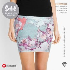 Just sold a Mini Skirt with my artwork titled 'Marble Art V13'! Order yours or see all #redbubble products carrying this design here: https://www.redbubble.com/people/83oranges/works/17578512-marble-art-v13-redbubble-pattern-home-tech-lifestyle?asc=u&p=pencil-skirt