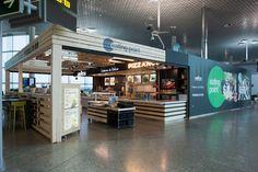 Proyectos - Modipu- Eating Point Aeropuerto Santiago de Compostela