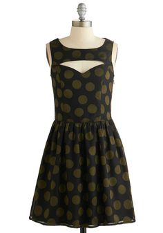 Dreaming of Dancing Dress. Though you stand in your boudoir and not a ballroom, you still offer a few twirls in this dotted dress from Sugarhill Boutique! #blackNaN