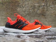 """#Adidas présente sa nouvelle basket : l'Ultra Boost """"Solar Red"""" de quoi réjouir les sportifs!"""