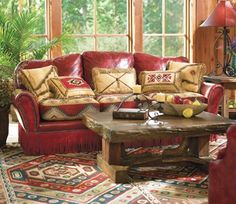 Love the colors and could tie into the whole country-western theme.