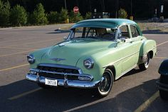 '52 Chevrolet Styleline Deluxe