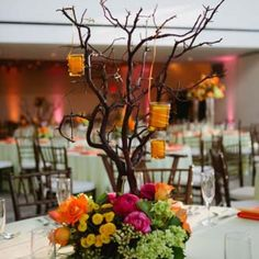 Wedding centerpieces