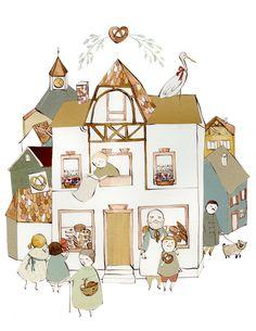 Village Bakery from KelseyGarrityRiley on Etsy