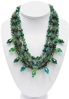 Color Splash Peridot Passions Necklace