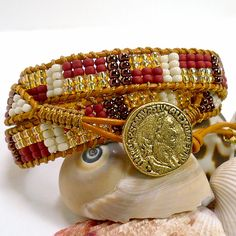 Is it Bohemian bourgeois or BOBO?  Is it just bohemian or BOHO?  These are the trendy terms for today's clothing and jewelry styles.  I like to say that my new bracelet design is definitely BOHO-chic.