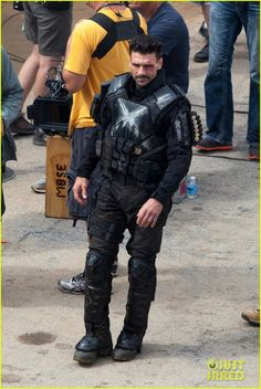 "Images for : Crossbones Unmasked in New ""Captain America: Civil War"" Set Photos - Comic Book Resources"