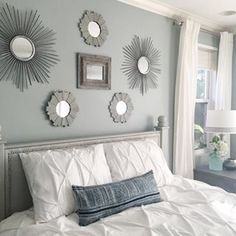 Silvermist Sw 7621 Sherwin Williams Idea Of Lots Diffe Mirrors Is Cool Paint