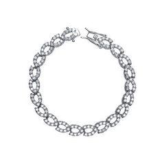 Cz Braided Bracelet