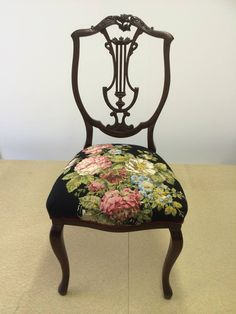 Vintage tapestry ~ Eclectic Chair Upholstery